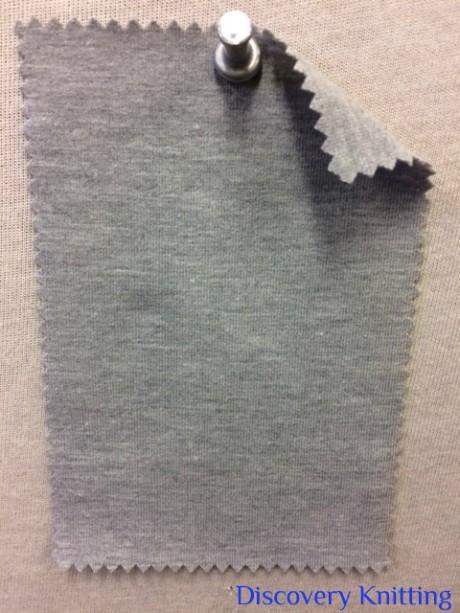 788 G-OGPE-11   80% Organic Cotton 12% Lycra 8% poly Jersey Grey Melange # 11