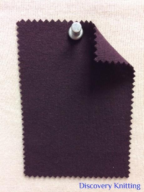 831 T-OG-Bery41  BERRY # 41  Organic Cotton 1x1 Rib