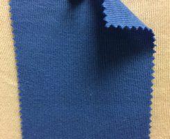 831 T-OG-Blu45  BLUETTE # 45 Organic Cotton 1x1 Rib
