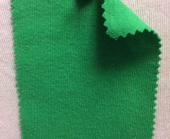 831 T-OG-Grn50  VERDE ERBA # 50  Organic Cotton 1x1 Rib