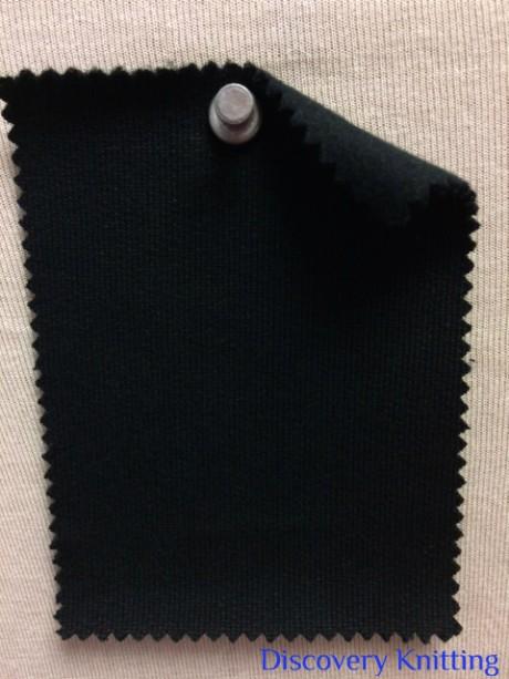 915 FT-OG-Blk Organic Fleece BLACK Super Heavy
