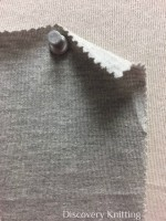 626 G-OG Organic Combed Cotton  Jersey Grey Melange # 10