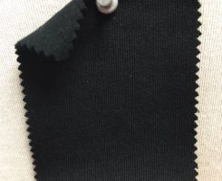 857 FT-OGP-Blk Organic Cotton Poly FLEECE - BLACK