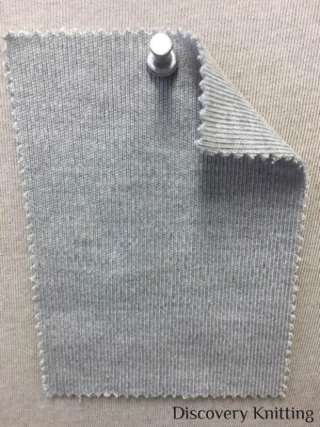 871 G-MP  Heavy Interlock Modal Poly Grey Melange