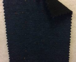 519 LB-VPE-NavyB Navy Tweed Loopback w Elastane /Black Loop