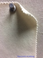 839 T-OGE-SN 1x1 Rib Organic Combed Cotton Lycra SCOUR NATURAL