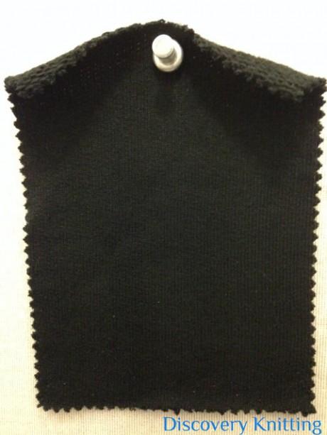 915 LB-OG-Blk Super Heavy Organic Cotton Loopback BLACK