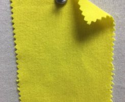 831 T-OG-Yel Organic Cotton 1x1 Rib YELLOW # 24