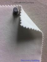 934 T-EFC English Fine Cotton SUPIMA INTERLOCK Raw White