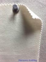 943-OGE-SN Organic Cotton Lycra 1x1 Rib SCOUR NATURAL