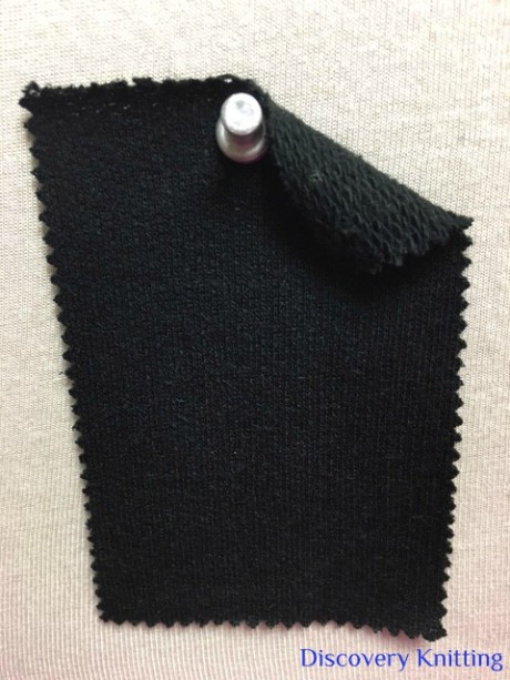 630 LB-CMS-Blk Cotton Modal Silk Loopback BLACK