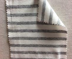 972 S-AVE Stripe Jersey Viscosey Lycra IVORY / GREY MELANGE