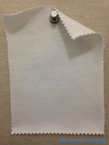 788-OGE-OP Organic Cotton 12% Lycra Jersey OPTICAL WHITE