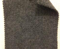 711 G-VPCE Viscose Poly Cotton Lycra 2x1 Heavy Rib CHARCOAL MELANGE