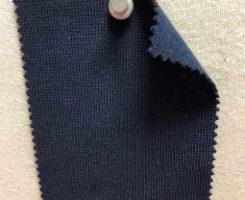 769-OGE Organic Cotton Lycra 1x1 Rib NAVY # EU 37536