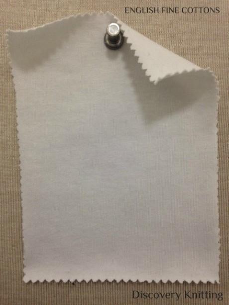 626 T-EFC  English Fine Cotton Supima Jersey OPTICAL WHITE