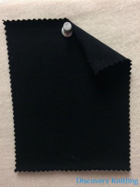 7882 NB-MOGE Modal Organic Cotton 12% Lycra Jersey BLACK