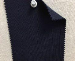934-EFC-Navy English Fine Cottons SUPIMA INTERLOCK - NAVY # EU 43500