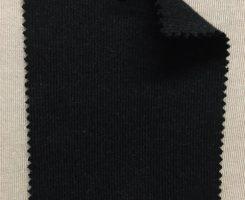847 G-CH-CM MELTON KNIT 90 Combed Cotton 10 Cashmere DARK CHARCOAL MELANGE