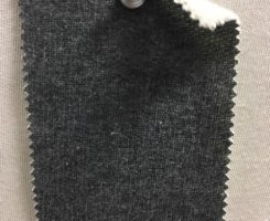 830 FT-C  100% Combed Cotton FLEECE CHARCOAL MELANGE # 8981