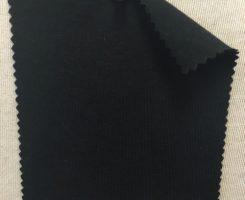 6672 -MOGE Modal Organic Cotton Lycra Jersey BLACK