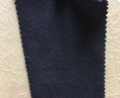 365-OG Heavy Organic Combed Cotton PIQUE NAVY # VER 194