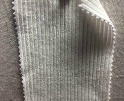1006-OGE -RW Organic Cotton Lycra Chunky 2x1 Rib RAW WHITE