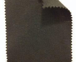 831 T-EFC ENGLISH FINE COTTON SUPIMA 1x1 RIB  BLACK