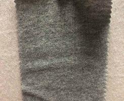 219 G-OG Organic Combed Cotton Rugby Jersey GREY MELANGE # 8985-10